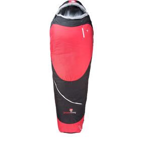 Grüezi-Bag Biopod Hybrid Wool/Down Śpiwór, czerwony/czarny